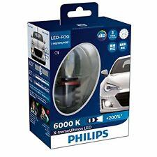 Philips Led Headlight Bulb H11 6000K 1350lm 12V 22W X-treme Ultinon 12834Unix2Jp