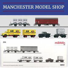 Märklin Insider Club 48812 HO Freight transport Spangenberg works DB era III NEW