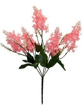 5 Lilac Blooms Pink ~ Silk Wedding Flowers Bridal Bouquets Diy Centerpieces
