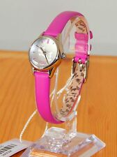 NEW Radley Ladies On The Run Pink Rosebud Leather Strap Dog Watch RY2307-RRP:£75