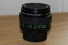 Tamron 2x Tele-convertor, Macro Teleplus MC7 (MT-MC7) - CX mount