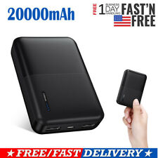 20000mAh Fast Mini Portable External Battery Charger Power Bank For Cell Phone