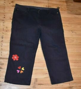Womens Target Stretch Cropped Jeans Size 18