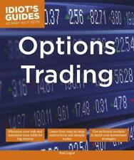 IDIOT'S GUIDES OPTIONS TRADING - LOGUE, ANN - NEW PAPERBACK BOOK