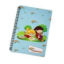 Rainbows A5 lined notepad. OFFICIAL SUPPLIER.