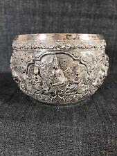 C19th Asian - Islamic Oriental  Silver Bowl