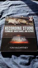 Recording Studio _ Technology, Maintenance and Repairs _