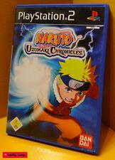 NARUTO - UZUMAKI CHRONICLES - PS2 Spiel - SONY PlayStation 2 / gebraucht