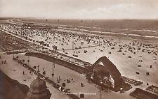 Ostseebad Swinemünde, Strand, gelaufen 1929, sehr gut erhalten,  siehe Scan