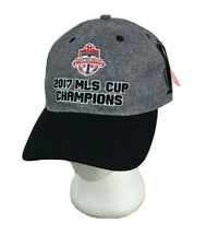 Toronto FC adidas Black Gray 2017 MLS Cup Champions Adjustable Cap Hat New