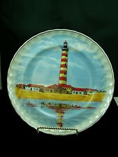 Light House Plate from Portugal Ilhavo Portugal