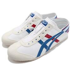 Asics Onitsuka Tiger Mexico 66 PARATY White Blue Men Slip On Shoes TH6P4N-0142
