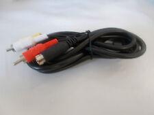 Sega Genesis 2, 3, CDX & 32X RCA AV Cable 6 Ft by Old Skool