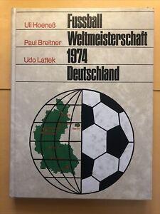 Germany 1974 WC WM Hardcover Book Signed Pics 1974 Deutschland Rare Original