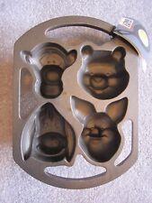 LODGE Disney Winnie the Pooh cast iron muffin pan tigger Eeyore No.20454