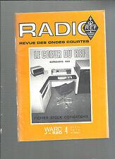 Radio Ref Revue des ondes courtes N° 4 Avril 1978 Burroughs B80 REF E28