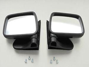 88-97 Isuzu TF TFR Faster Pickup Vauxhall Brava Chevy LUV Pair door mirror