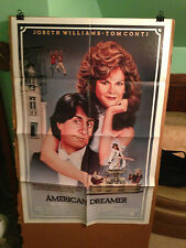 AMERICAN DREAMER-JOBETH WILLIAMS,TOM CONTI,G.GIANNINI-1984-ORIGINAL MOVIE POSTER