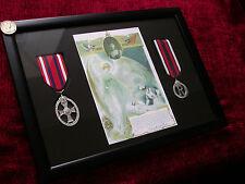 Framed WW1 Replica Nursing Cape Badges as we supplied to BBC The Crimson Field
