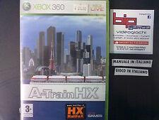 A-TRAIN HX XBOX 360 PAL ITA NUOVO SIGILLATO