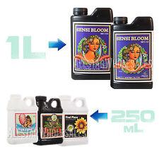Advanced Nutrients Sensi Bloom A+B, Bud Candy, Final Phase, Piranha, 250ml