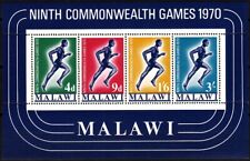 MALAWI 1970 Sport: 9th Commonwealth Games. Souvenir Sheet, MNH