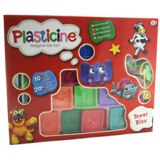 Plasticine Tower Blox Playset