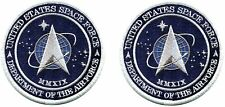 Made in the USA! Two Official United States Space Force Licensed Patches