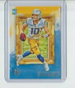 2020 Panini Chronicles Justin Herbert Gridiron Kings Rookie RC Chargers