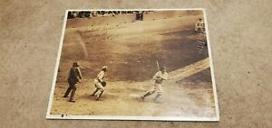 """MLB No. 5 """"The 60th - Babe Connects"""" printed Autographed Photo Sealed"""