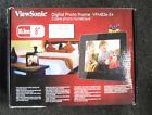 "ViewSonic VFM-836-54 8"" mutimedia high Resolution 800x600 Digital Frame freeship"