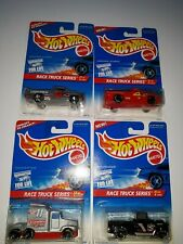 Hot Wheels 4 Trucks in the Race Truck Series. 1995 Mattel. (P-34)
