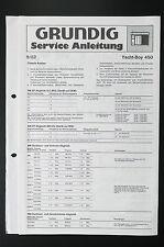 Grundig Yacht Boy 450 Original Service-Manual/Servizio-Istruzioni/Schema Elettrico! o29