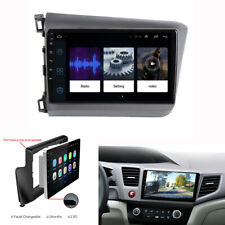 """New listing 9"""" Touch Screen Android 9.1 Hd Car Stereo Radio Gps 1+16G For Honda Civic 12-15"""