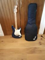 Fender Stratocaster Mexican Standard - blue - 2008 - w/padded carry case