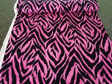Fashion Skin Tiger Print VIP BTY African Jungle Cats Hot Pink Black