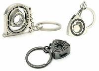 Mazda Keychain Rotary Wankel Keychains Metal Key Chain Fob RX-7 RX-8 [3 PACK]