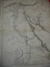 CARTE DE L'ITALIE ANCIENNE 1821