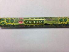HEM INCENSE STICKS 20 PER BOX FOR RUE / RUDA / RUTA / ARRUDA