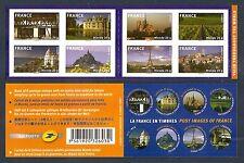 FRANCE 2009 Carnet Adhésif BC 329 LA FRANCE EN TIMBRES -NEUF** NON plié LUXE MNH