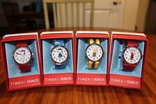Timex Snoopy Watch - Full Peanuts Collection Set