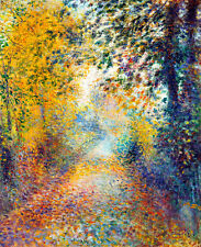In the Woods A1+ by Pierre Auguste Renoir High Quality Canvas Print