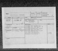 Kartenkartei der Generalstabsoffiziere von Benthack bis Daniel