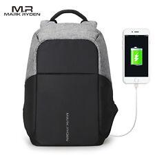 Original Mark Ryden 15inch Laptop Backpack Anti Thief Multifunction USB Charging