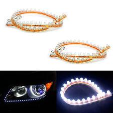 2x 48 Led Strip Tube 12v Flexible Run DRL Lights HeadlightsTuning For Car Auto