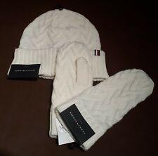 TOMMY HILFIGER - 1 Paar Handschuhe Handschuh pair of gloves weiß / NEU aus USA