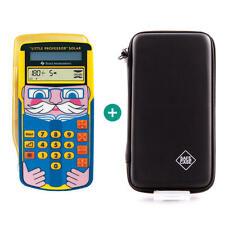 TI Little Professor Taschenrechner + Schutztasche Schutzhülle