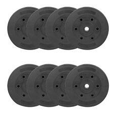 Weight Plates Set Free Dumbell Vinyl 1 inch Standard 5kg 10kg 20kg Gym Barbell
