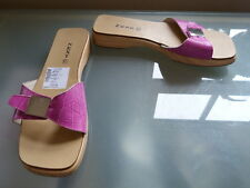 Next Ladies Flip Flops Sandals 4 37 Beach Summer Clogs Holiday Pink Casual New