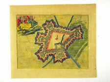 BREDA BRABANT NIEDERLANDE  KOL KUPFERSTICH ANSICHT  CHRYSTIN 1786 AD #D861S